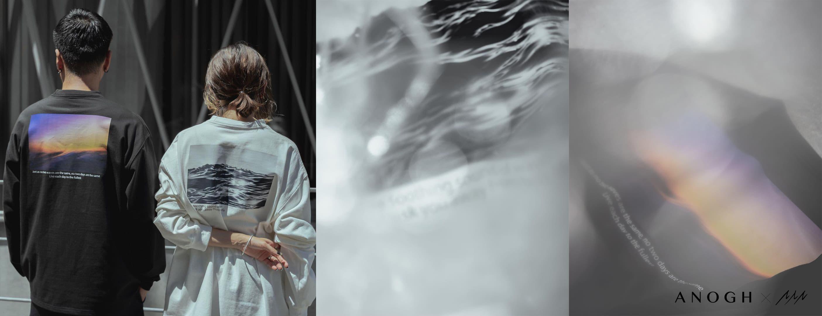 ANOGH x Shun Natsui コラボTシャツ